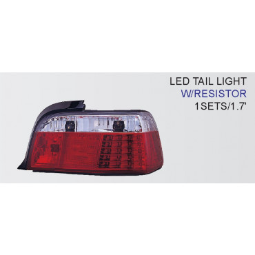 BMW 3 E36 2V Red LED 92-98